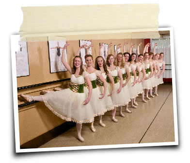 High School Pointe Class